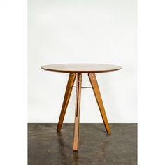 Brett Bistro Table, Hard Fumed Oak