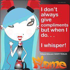 Haha, Flame #fgempowerment #fortunegirls #fortunegirlsgiggles