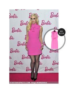 Gwen Stefani at the Barbie event - seen in MSGM. #msgm  #gwenstefani @dejamoda