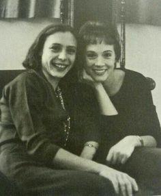Julie Andrews with her closer friend svetlana beriosova