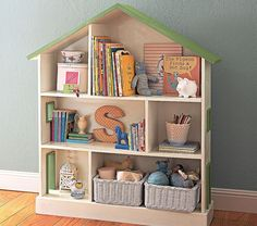 dollhouse bookcase roundup on Apartment Therapy