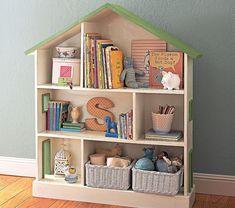 dollhouse bookcase; bookcase dollhouse.  you decide.  Also: http://grosgrainfabulous.blogspot.com/2012/02/more-bookcase-dollhouse-love.html