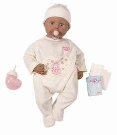 Zapf Creation Baby Annabell Version 4 - Ethnic Doll (Barcode EAN = 4001167763568). http://www.comparestoreprices.co.uk/dolls/zapf-creation-baby-annabell-version-4--ethnic-doll.asp