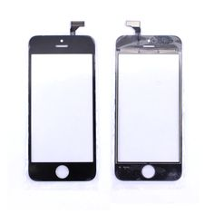 New Replacement Black White Touch Screen Digitizer Panel Glass Lens for iphone 5 5G Repair Part Parts High Quality Free shipping