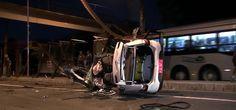 #Polícia: Bandido morre em acidente ao tentar roubar taxista na Zona Oeste de São Paulo