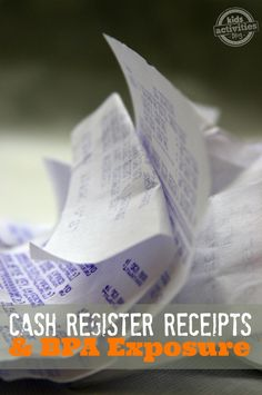 Cash Register Receipts and BPA Exposure - What I learned