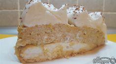 Kekszes pudingos torta Krispie Treats, Rice Krispies, Vanilla Cake, Food, Essen, Meals, Rice Krispie Treats, Yemek, Eten
