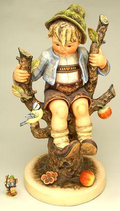 Hummel Figurine Apple Tree Boy