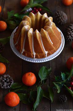 bundt cake, tangerine cake, bolo de tangerina
