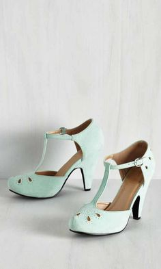 bf50b2eb0e70 The Zest is History Heel in Mint Vintage Style Shoes