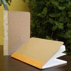 DIY fake moleskines that are both pretty easy and pretty impressive
