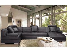 Deluxe Leather Corner Suite