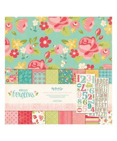 Loving this Hello Gorgeous Cardstock & Accessory Collection Pack on #zulily! #zulilyfinds