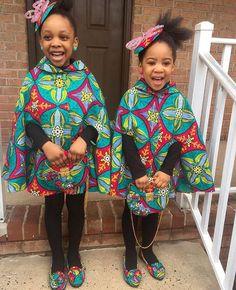 Cute matching little girl styles #prints