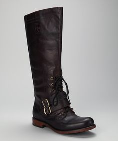 Brown & Black Lucille Boot