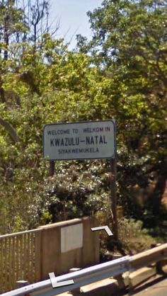 KwaZulu-Natal, South Africa: R61 Eastbound after crossing the Mtamvuna River heading towards Port Edward.