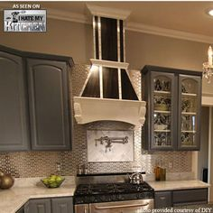 Range Hoods - Air-Pro (Formerly Fujioh) Arched Corbel Wall Mount Wood Range Hood - Customized to Fit Your Kitchen | KitchenSource.com