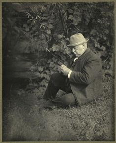 Grover Cleveland, fishing under a tree. - If there's one thing you should know about Grover Cleveland, its that he's the only President of the United States who was elected to non-consecutive terms (making him the and the President). Presidents Wives, American Presidents, Famous Presidents, Us History, American History, Grover Cleveland, Presidential History, Political Figures, Portraits