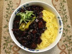 韓式炸醬麵짜장면食譜、作法 | monaca的多多開伙食譜分享
