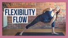 30 min Vinyasa Flow For Flexibility - Slow Flow Yoga Stretch Yoga Meditation, Yoga Flow, Yoga Inspiration, Yoga Fitness, Intermediate Yoga Poses, Yin Yoga Sequence, Yoga Movement, Online Yoga Classes, Yoga For Back Pain