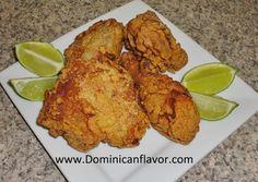 Dominican style Fried Chicken/Pica Pollo (Pollo Frito) Dominicano | Delicious Dominican Cuisine