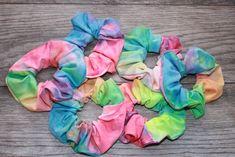 scrunchies Half Up scrunchies Vsco Tie-Dye Hair Scrunchie, Wrist Scr… Tie Dye Hair, Dyed Hair Ombre, Dyed Hair Purple, Dyed Hair Pastel, Hair Ties, Gifts For Teens, Gifts For Her, Velvet Hair, Spring Hairstyles