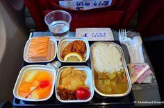 Air Koryo inflight meal