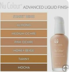 This lovely foundation will give you a flawless finish and has an Nu Skin, No Foundation Makeup, Liquid Foundation, Foundation Colors, Tinted Moisturizer, Moisturiser, Best Makeup Products, Beauty Products, Skin Products