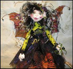 OOAK Spider Fairy Doll Arakna Phoebeeia by fairymermaid on Etsy, $175.00