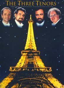 The Three Tenors: Carreras, Domingo, Pavarotti with Levine (For high voice and piano) by Jack Long