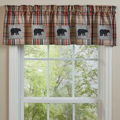 Bear Country Patch Valance – Lange General Store