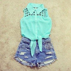 Outfit awesome,  #jeans,  #clothes  #blue