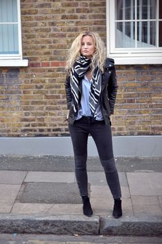 Style...Anouk Yve | Creators of Desire  // casual denim and leather jacket style //  Fashion trends and style inspiration by leading fashion bloggers
