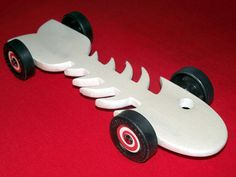 pinewood derby car patterns | Pinewood Derby Stories and Photos from Maximum Velocity: 12/5/10 - 12 ...