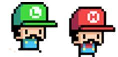 http://mnrart.deviantart.com/art/Pixel-Bros-404406759