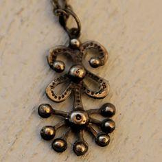 Seppo Tamminen, vintage bronze pendant. #Finland