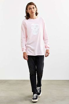 Slide View: 6: Misfits I Want Your Skull Long Sleeve Tee
