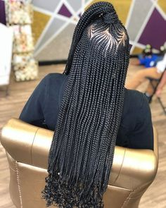 """""""Finally got to do something that I don't do everyday🙌🏾🙌🏾---- Photos Comments """" Curly Weave Hairstyles, Braided Ponytail Hairstyles, Braided Hairstyles For Black Women, Crochet Braids Hairstyles, African Braids Hairstyles, My Hairstyle, Girl Hairstyles, Black Girl Braids, Braids For Black Hair"""