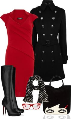 """For The Office - #5"" by in-my-closet on Polyvore"