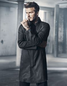 David Beckham in the new H&M campaign - What is he staring at? - Elle