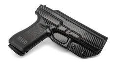 Glock 17/22/31 (Gen 1-5) IWB KYDEX Holster - Concealment Express Glock 22, Aluminum Molding, Threaded Barrel, Custom Glock, Kydex Holster, Gen 1, Black Oxide, Hand Guns, Survival