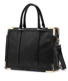 PU Horsehair Tote Bag