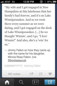 I love Jimmy Fallon!