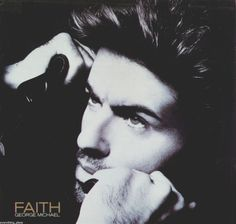 """This is George Michael Faith 12"""" single vinyl record. The scanned pictures are of the actual record cover. It is recorded on Columbia Record Label #44 07478 in 1987. There are no marks on the vinyl no"""