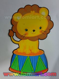 León de circo fomiart Princess Peach, Pikachu, Fictional Characters, Art, Ballerina, Preschool Circus, Circus Characters, Marcos Para Fiestas, Art Background