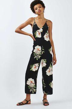 cd087d0c6b Floral Print Jumpsuit - Topshop Floral Playsuit