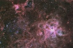 NGC 2070 is a star cluster that can be seen among other star clusters in the scenic design by Technical Director DJ Badon. Please click 'Visit site' to learn more!