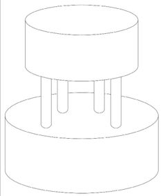 Tiered Cake Design Template : 1000+ images about Round Design Templates on Pinterest ...