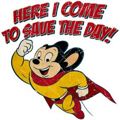 Mighty Mouse T-Shirts, Hoodies & Gifts - Whee! TV