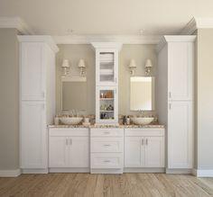 Aspen 3 Door Bathroom Cabinet